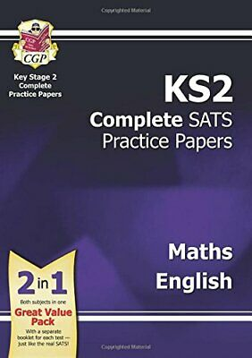 KS2 Maths and English SATS Practice Papers Pack (for the New Cur... by CGP Books