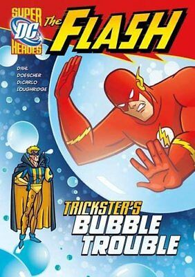 Trickster's Bubble Trouble (The Flash) by Loughridge, Lee Book The Cheap Fast