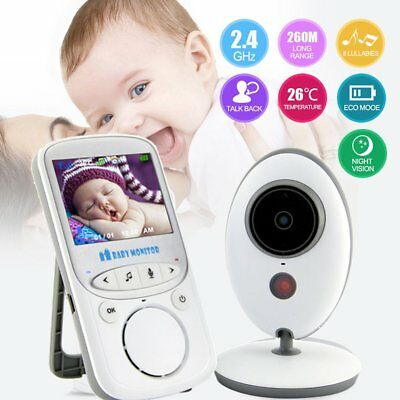 2.4'' LCD Baby Pet Monitor Wireless Digital Audio Video Camera Security UI