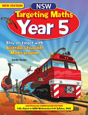 NEW NSW Targeting Maths Student Book : Year 5 By Katy Pike Paperback
