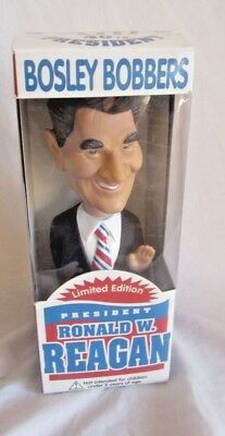 Ronald Reagan bobble head, Bosley limited edition, new, show sample (BH)