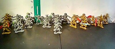 lot of 27 warriors of the galaxy figures