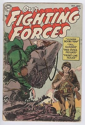 Our Fighting Forces Comic #1 (1954) GD+ DC Golden Age War
