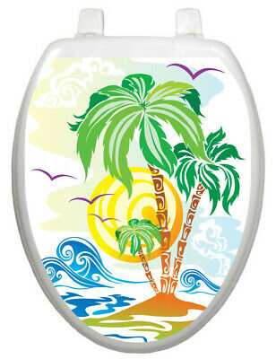 Fantastic Toilet Tattoos Themes Catch The Wave Toilet Seat Decal Bralicious Painted Fabric Chair Ideas Braliciousco