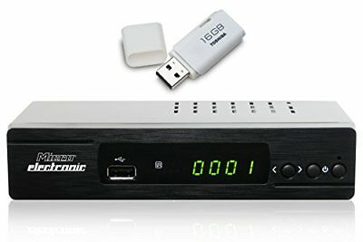 Microelectronic m310plus incluso 16 GB USB Stick HDTV Ricevitore satellitare Ner