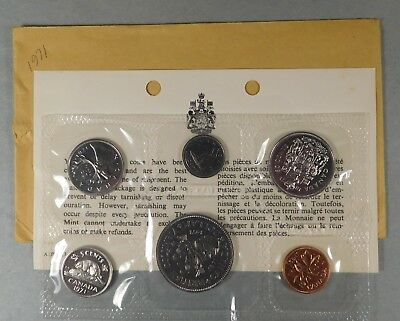1971 Canadian Proof Like Set - Cent Thru Dollar -
