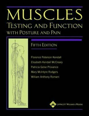 Muscles: Testing and Function, with Posture and Pain  Fifth Edi... 9781451104318