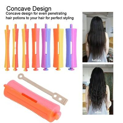 Wave Rods Perm Curly Hair Curlers Salon Long Hair Beauty Hairdressing Tool wd