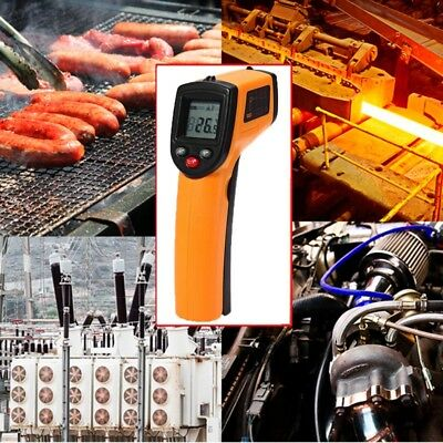 Neu Non-Contact LCD IR Infrared Digital Handheld Temperature Thermometer