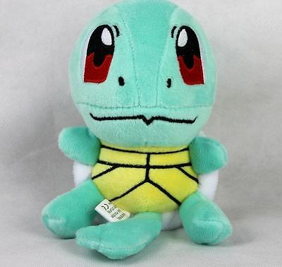 """New 6.5"""" SQUIRTLE Lovely Stuffed Soft Plush Toys Doll figure Xmas Gift Pokemon"""