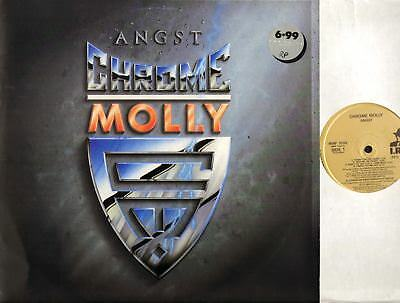 CHROME MOLLY angst (UK Original) LP EX/VG Hard Rock, Heavy Metal MIRF 1033