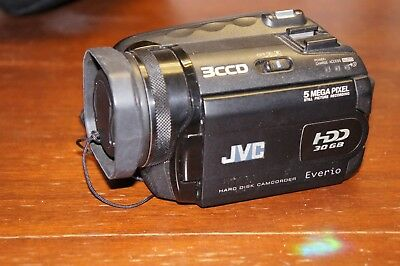 *RRP $2000* JVC Everio GZ-MG505 5 Megapixel+3-CCD 2560x1920 image (No Charger)