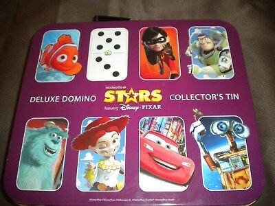 Woolworths domino stars collectors tin & complete domino set