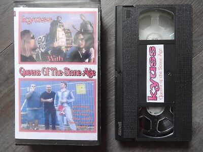 Queens of the stone age/Kyuss/TV Eye   3 x VHS Videos