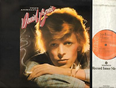 DAVID BOWIE young americans (original uk press) LP EX/EX- RS 1006 pop rock, soul