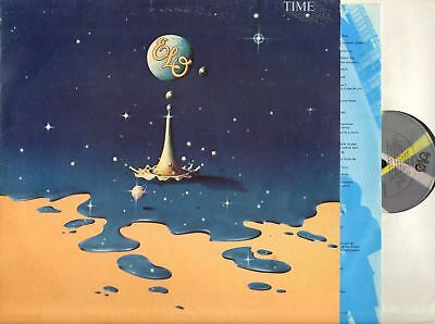 ELECTRIC LIGHT ORCHESTRA (ELO) time (UK) LP EX/VG JETLP 236 Symphonic Rock, 1981