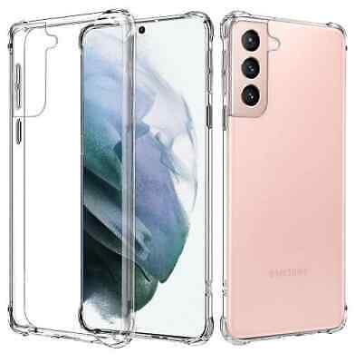 Shockproof Tough Clear Cover Hard Gel Case For Samsung Galaxy Note 9 8 S9 S8 +