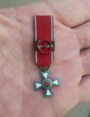 Luxembourg, Grand Duchy, Order of Merit, scarce period miniature medal