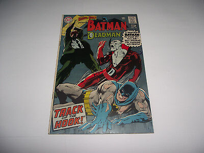 Dc The Brave And The Bold #78 Batman And Deadman Neal Adams Art 1960S