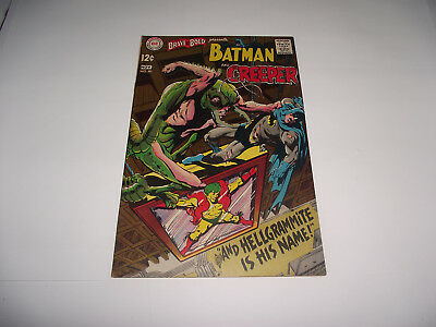 Dc The Brave And The Bold #80 Batman And The Creeper Neal Adams Art 1960S