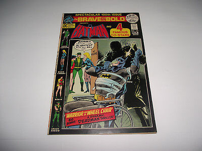 Dc The Brave And The Bold #100 Spectacular 100Th Issue Neal Adams Art 1960S