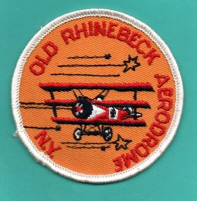 OLD RHINEBECK AERODROME PATCH, New York