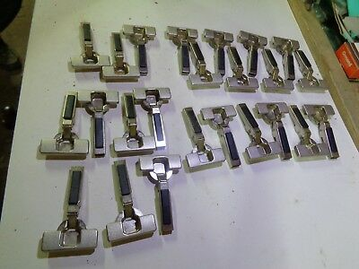 24 Blum, 6 Grass, 2 Salice, kitchen hinges. Collection going cheap. New & unused
