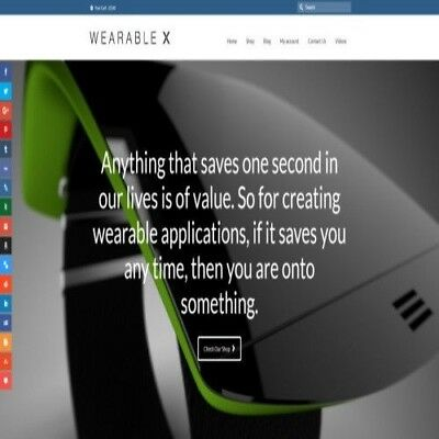 WEARABLE TECH - Dropship Website Business For Sale | Commission On Each Sale