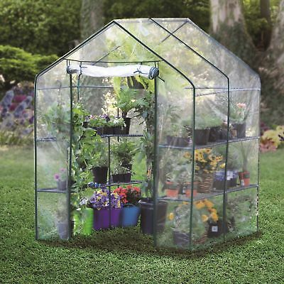 Bond Manufacturing 4.86 Ft.W x 4.79 Ft. D Hobby Greenhouse