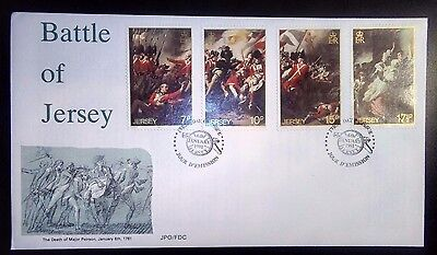 1981 Battle of Jersey First day cover.