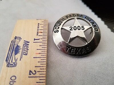 South Padre Island Texas 2005 Badge