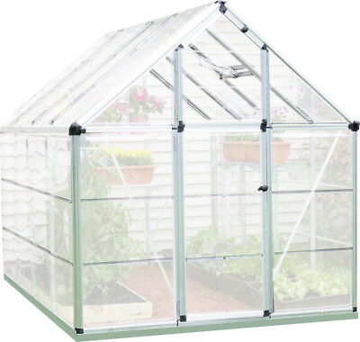Palram Snap & Grow 6 Ft. W x 8 Ft. D Polycarbonate Greenhouse