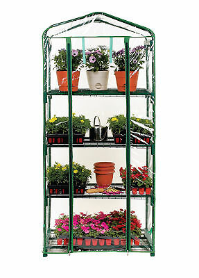 Misco Home and Garden 4 Tier 2.25 Ft. W x 1.58 Ft. D Growing Rack