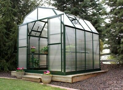 Grandio Greenhouses Elite Heavy-Duty Aluminum 8 Ft. W x 8 Ft. D Greenhouse