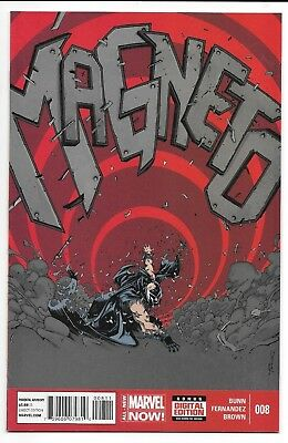 Marvel Comics MAGNETO #8 first printing