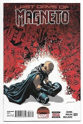 Marvel Comics MAGNETO #21 first printing