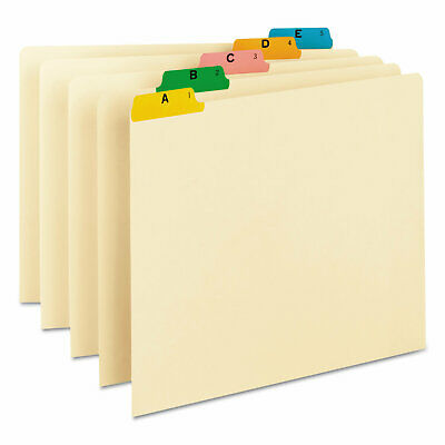 Smead Manufacturing Company Alpha Recycled Top Tab File Guides, 25/Set