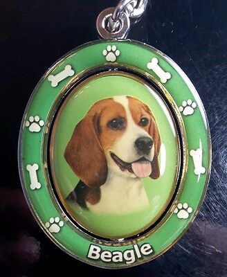 New BEAGLE Dog Keychain Spinner Pet Gift FREE SHIPPING