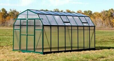 Grandio Greenhouses Elite Heavy-Duty Aluminum 8 Ft. W x 16 Ft. D Greenhouse