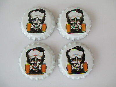 50 White Edgar Allan Poe ( Uncrimped) Free S&H--Soda/Beer category