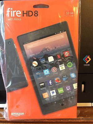 New Amazon Fire HD 8 (7th Generation)  32GB, Wi-Fi, 8In - Black W/ special offer