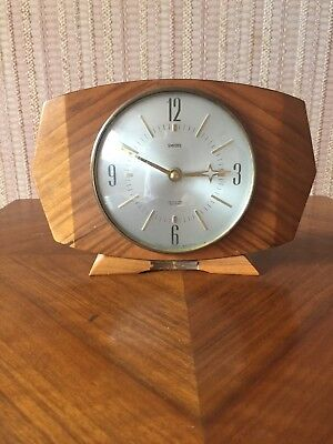 Old Smiths Wooden Retro Clock