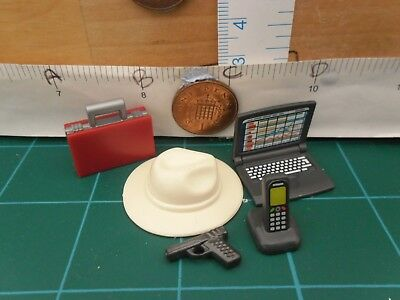 0779 Toy Ipod Mobile Phone in charger Playmobil Spare Parts Laptop