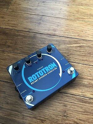 Pigtronix Rototron Rotary Guitar Effect Pedal