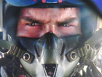 "USAF USN Gulf War ""TOP GUN"" FIGHTER PILOT MBU-12/P OXYGEN MASK FACE PIECE SHORT"