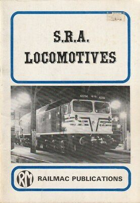 S.R.A. Locomotives NSW Railways Historical Photos BOOK Well illustrated TRAINS