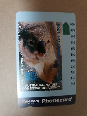Australian Nature Conservation Agency Phonecard Mint