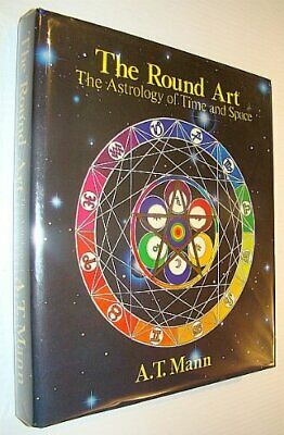 ASTROLOGY ROUND ART: Astrology of Time and Space by Mann, A.J. Hardback Book The