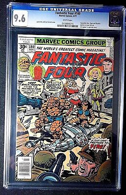 Fantastic Four #180 CGC 9.6 Marvel Comics, Jack Kirby cover March 1977