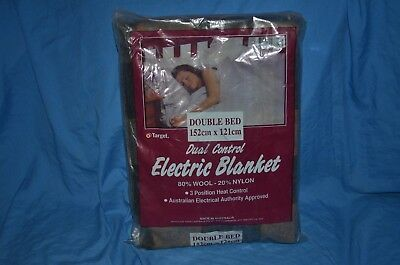 Target Dual Control Electric Blanket.New. Double-bed
